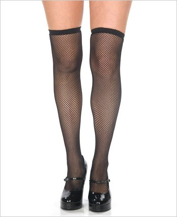 BeWicked Fishnet Thigh High's BW-559