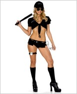 BeWicked Miss Swat Sexy Adult Costume BW-910