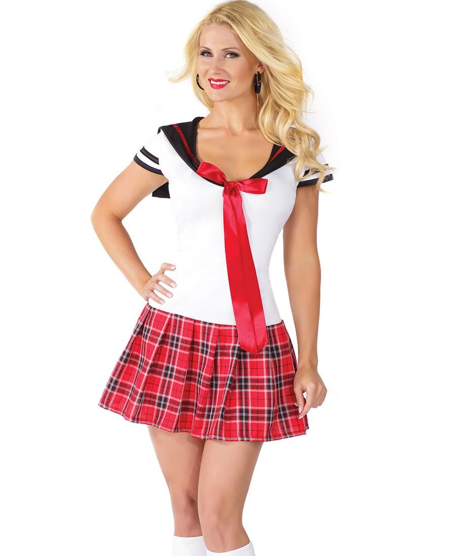 Anime School Girl Women's Halloween Costume CQ-M6188