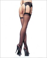 Leg Avenue� Sheer Backseam Stockings LA-1000