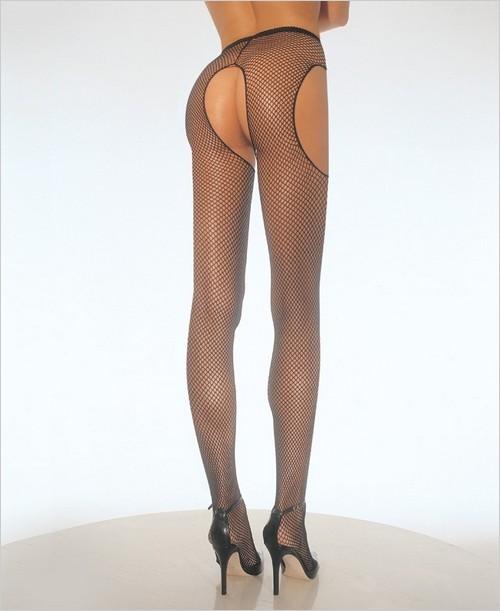Skinny young nylon pantyhose