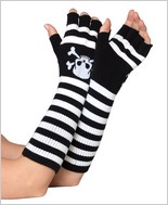 Leg Avenue® Acrylic Elbow Length Fingerless Gloves LA-2055