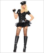 Officer Bombshell Sexy Adult Costume LA-83619