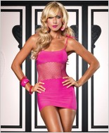 Leg Avenue Seamless Opaque Mini Dress LA-86322