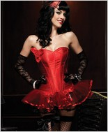 Leg Avenue Paige Corset With Support Boning LA-86334