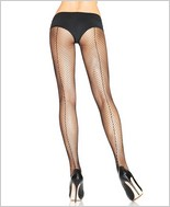 Leg Avenue® Backseam Fishnet Pantyhose LA-9015
