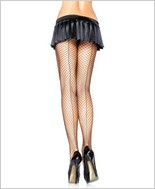 Leg Avenue� Lycra Industrial Net Backseamed Pantyhose LA-9076