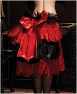 Leg Avenue Satin And Organza Pin-On Bustle LA-A1695