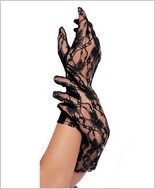 Leg Avenue® Wrist Lenght Lace Gloves LA-G1200