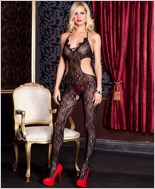 Floral Lace Bodystocking ML-1097