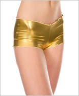 Gold Stretch Tanga Short ML-110-Gold