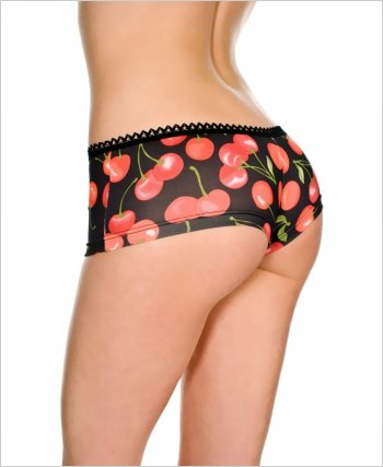 Cherry Print Tanga Short ML-114