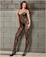 Music Legs� Lace Bodystocking ML-1875Q
