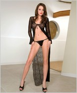 Music Legs� Sexy Long Robe ML-3268