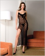 Music Legs� Sexy Lace Gown ML-3327