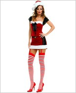 Music Legs® Sexy Miss Santa Outfit ML-70166