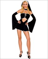 Gothic Nun Adult Costume ML-70275