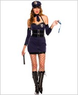 Police Women Adult Costume ML-70323