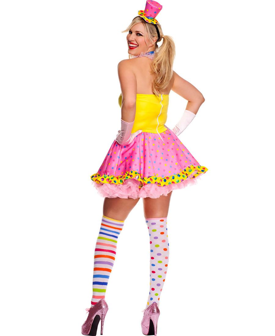Killer Clown Plus Size Costume - HalloweenCostumescom