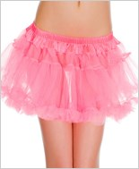 Double Layer Mesh Petticoat ML-721-Pink