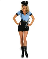 Roma® Sexy Police Adult Costume RC-1155