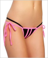 Roma Three Strings Open Crotch G-String RC-117L
