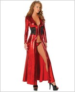 Roma Long Robe With Lace RC-2511LQ
