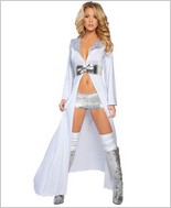 Roma Robe With Shorts And Waist Cincher RC-2882SL