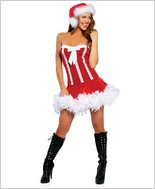 Sweet Santa Sexy Adult Costume By Roma Costume RC-C106