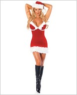 Miss Santa Sexy Adult Costume By Roma Costume RC-C118