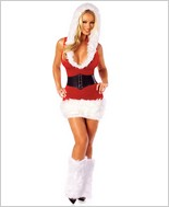 Santas Model Sexy Adult Costume By Roma Costume RC-C119