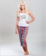Splatter Peace Pajama Set CA-8242C