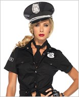 Police Shirt And Tie Kit La-2640
