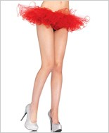 Red Tulle Tutu Skirt La-2668-Red