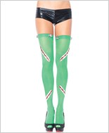 Frankie Thigh Highs With Bolts And Stitches La-6331