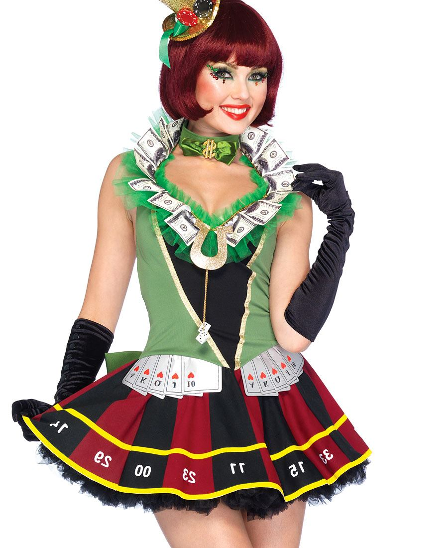 Roulette Wheel Costume Roulette Wheel Dress With