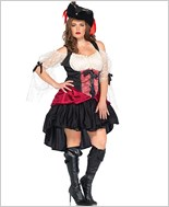 Plus Size Wicked Wench Adult Costume La-85157X