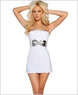 Roma Slinky And Metallic Tube Dress RC-2891SL
