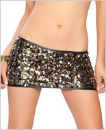 Roma Sequin Mini Skirt RC-SKSQ108